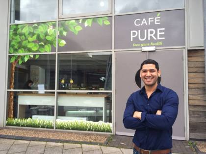 Jamille Nicholas and Tazmin Procter are the proud owners of Cardiff's first fitness cafe